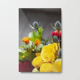 Floral III  /  The Fresh Flower Collection Metal Print