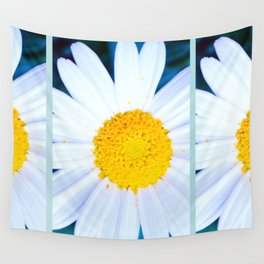 SMILE - Daisy Flower #2 Wall Tapestry