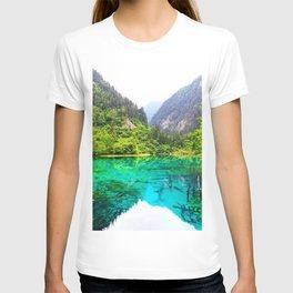ANCIENT GLORY // Five Flower Lake, Jiuzhaigou T-shirt