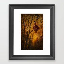 Pine Girl Framed Art Print