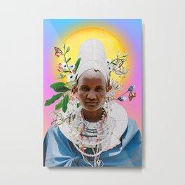 mère afrique/2 Metal Print