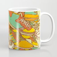 shoe Mugs featuring If the Shoe Fits by Alvaro Arteaga