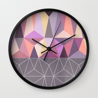 nordic Wall Clocks featuring Nordic Combination 31 Z by Mareike Böhmer