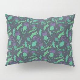 Scottish Thistle Pattern Pillow Sham