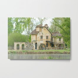 Country Village in France Metal Print