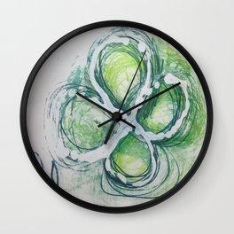 Hello Seattle Wall Clock