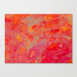 Neon Sherbert Canvas Print