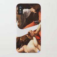 nike iPhone & iPod Cases featuring Fight Nike by CHESSOrdinary