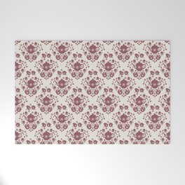 Afternoon Tea Damask Welcome Mat