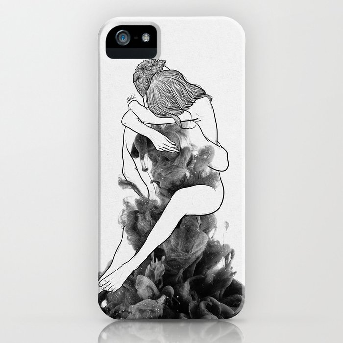 i find peace in your hug. iphone case