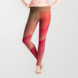 Pink Navel Leggings