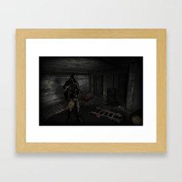 Man of radon Framed Art Print