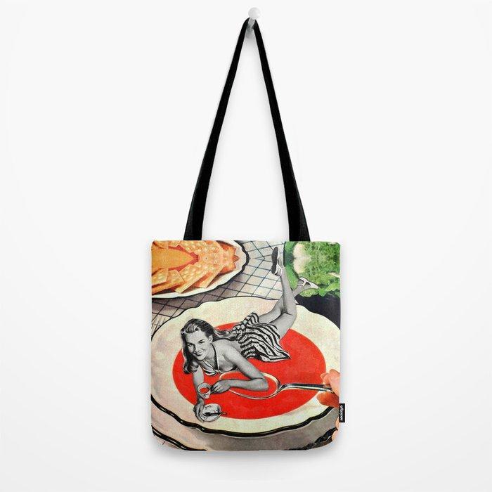 Red Goo Tote Bag