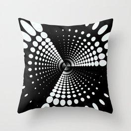 Spinning Motion Throw Pillow