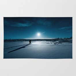 Guided by Moonlight Rug