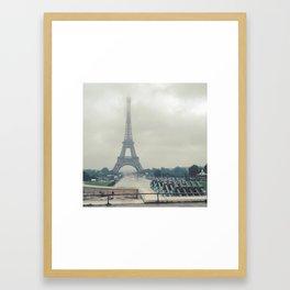 la tour d'amour Framed Art Print