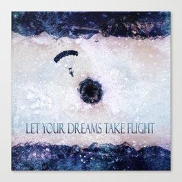 Let Your Dreams Take Flight Canvas Print