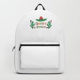 Abios Amigo Mexican Graduation Day Gift Backpack