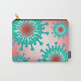 Seamless texture - virus Carry-All Pouch