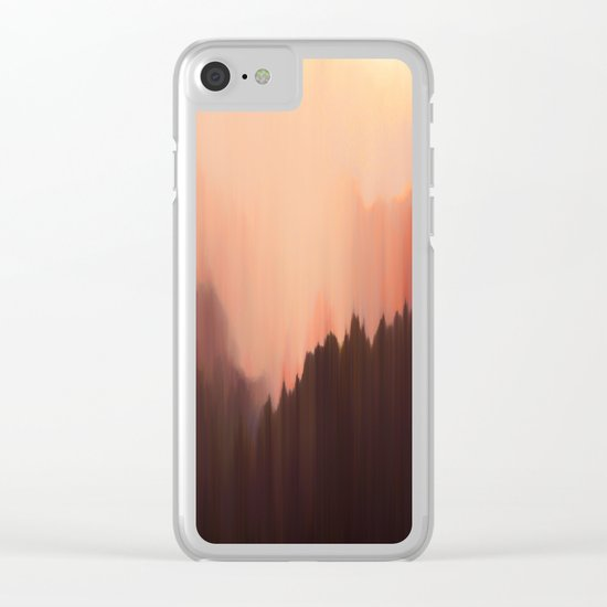 Afternoon Sun Clear iPhone Case