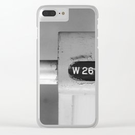 Row 26 Clear iPhone Case