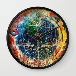 Heaven on Earth Wall Clock