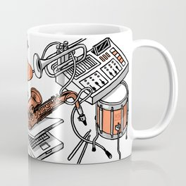 Musical Instruments Coffee Mug