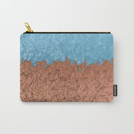 Phoenix Ombre Blue Sky Orange Dirt Urban Camouflage Carry-All Pouch