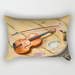 Violin Rectangular Pillow