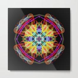 Mandala 3309A Metal Print