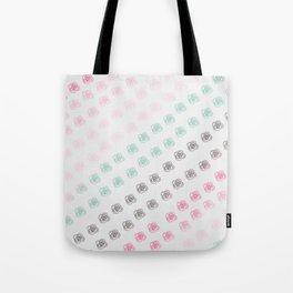 Ombre Rose Patterned Design Tote Bag