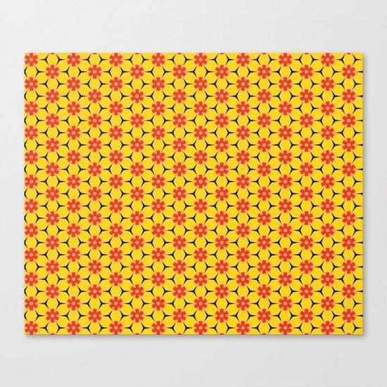 Vandenbosch Yellow Canvas Print