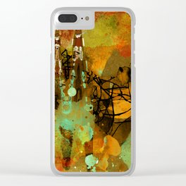 The last mohicans Clear iPhone Case