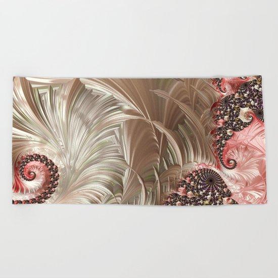 Pink Pearlesque Beach Towel