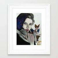 celestial Framed Art Prints featuring Celestial by Kylerg