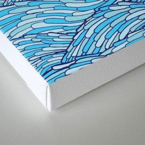 Ocean Face Canvas Print