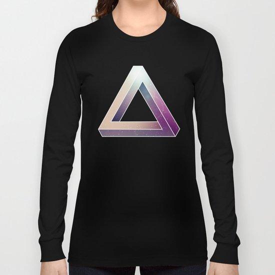 Penrose Triangular Universe Long Sleeve T-shirt