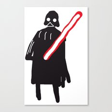 you are drawing vader Canvas Print