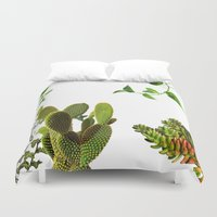 plants Duvet Covers featuring Plants by jajoão