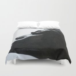Black Woman Duvet Cover