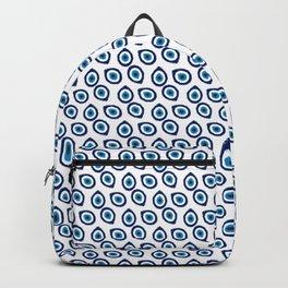 Evil Eye Teardrop Backpack