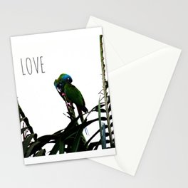 Something about Love | Tropical nature photograph Stationery Cards