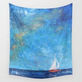 Nainy's Boat Wall Tapestry