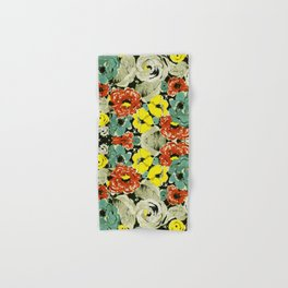 Floral Impressions Hand & Bath Towel