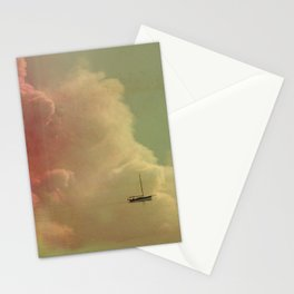 Once Upon a Time a Little Boat Stationery Cards