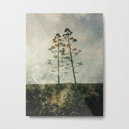 Twogether Metal Print