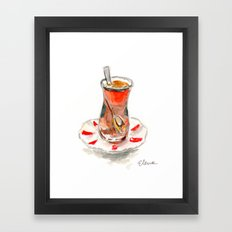Turkish Tea Framed Art Print
