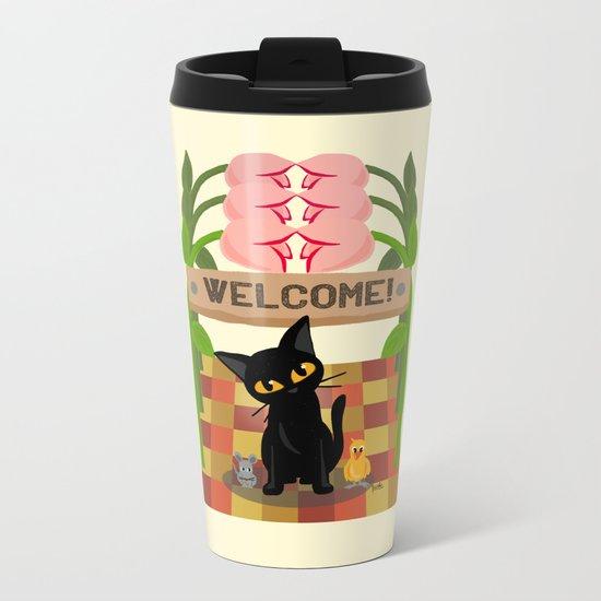 Welcome!! Metal Travel Mug
