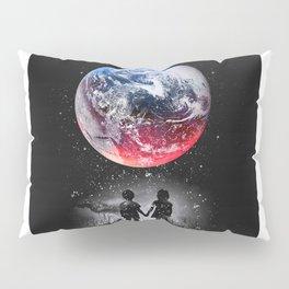 Red blue earth Pillow Sham