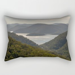 Looking toward Berowra Creek from Muogamarra Nature Reserve, Sydney Rectangular Pillow